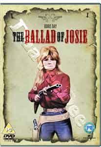 Josie New PAL Classic DVD Doris Day Peter Graves George Kennedy