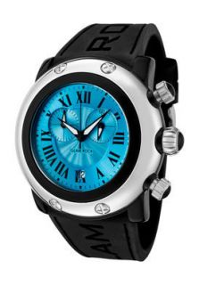 Glam Rock Watch GW25142 Womens Miami Beach Chronograph Black Silicone