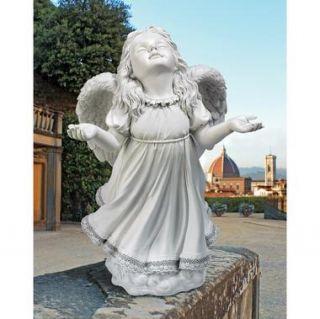In Gods Grace Angel Statue Angel Girl Wings Cherub Dress Design