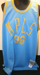 GEORGE MIKAN Size 52 MPLS LAKERS Mitchell & Ness Hardwood Classics