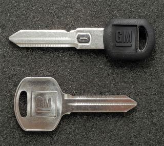 GM Buick Oldsmobile OEM B104 Vats Key B85G Secondary Key Blank Blanks