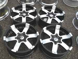 Granite 20 Black Alloy Wheel Rims Set for F150 LKQ