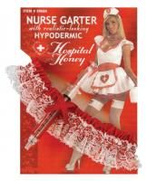 Hospital Honey Nurse Costume 5 Piece Halloween Accessory Kit