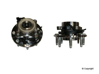 Chevrolet 1500 HD GMC Sierra 2500 Sierra 2500 HD Axle Bearing and Hub