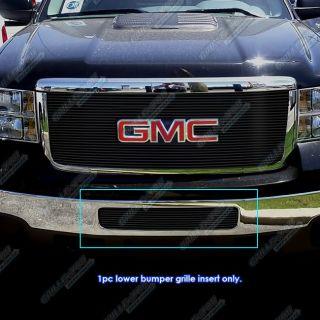 2011 2012 GMC Sierra 2500 3500 HD Bumper Black Billet Grille Grill