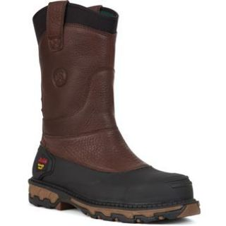 Georgia Brown 11 Mud Dog Pull on St WP Work Boots Occupational