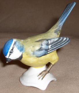 Goebel Blue Titmouse Bird Figurine Germany