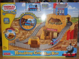 New Thomas Friends Take N Play Rumling Gold Mine Run