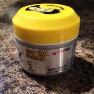Short Big Sexy Hair Control Maniac Wax Full size Tested Once Men Or