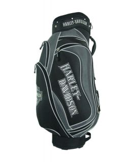Licensed Harley Davidson Golf Cart Bag Silver Black