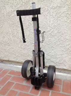 Eagle 9200 Kitty Hawk Full Size Golf Bag Pull Cart