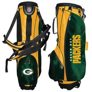 Wilson Green Bay Packers NFL Carry Stand Golf Bag New