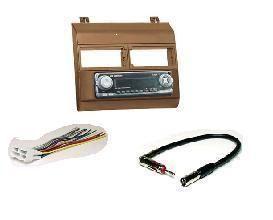 88 94 GM Truck Radio Install Dash Kit Cognac Saddle w Harness Antenna