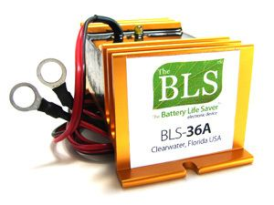 BLS 36A Golf Cart Batteries Desulfate with A Battery Life Saver BLS