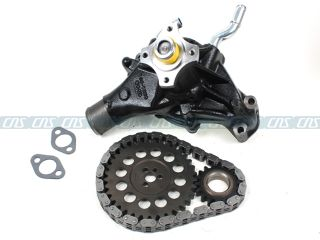 96 02 CADILLAC CHEVROLET GMC 5.7L TIMING CHAIN SET + WATER PUMP VIN R