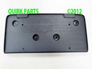 2010 2013 GMC Terrain Front License Plate Bracket Genuine Brand New