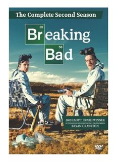 Breaking Bad The Complete Second Season DVD 2010 4 Disc Set