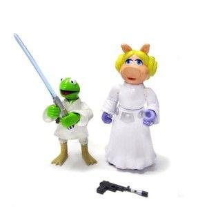 Disney Star Wars Muppets Gonzo Kermit Darth Vader Sole R2 D2 Luke
