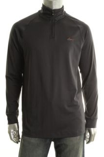Greg Norman New Gray Long Sleeve 1 4 Zip Raglan Sleeve Pullover Jacket