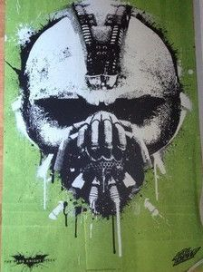 Mountain Dew Batman The Dark Knight Rises Bane Poster