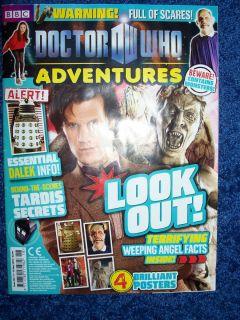 ADVENTURES Magazine Issue 165 Daleks TARDIS Cybermen K9 Smith Gillan