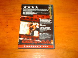 Set Pieces Directors Cut DVD Out of Print Gore Horror Banned Unrated