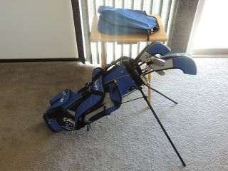 Callaway XJ Series Junior Golf Club Set in Callaway Bag 7 Clubs
