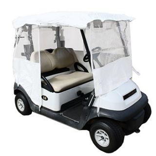 All Season White Golf Cart Cover
