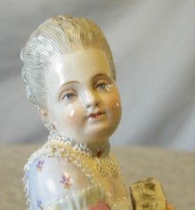 Incredible Pair Meissen Courtship Figurines Man Lady