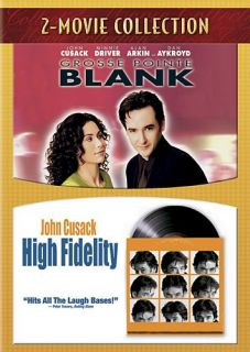 GROSSE POINTE BLANK & HIGH FIDELITY New DVD 2 Movie Collection John