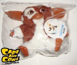 NECA Gremlins Smiling Gizmo 6 Plush Doll New with Tag Mogwai