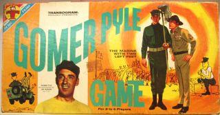 Gomer Pyle Board Game © 1965 Transogram 3822