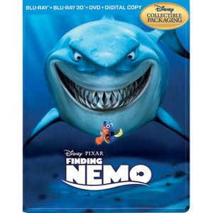 Finding Nemo Blu Ray DVD 2012 5 Disc Set Steel Case