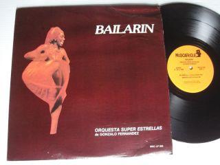 Orquesta Super Estrellas de Gonzalo Fernandez Bailarin LP Near Mint