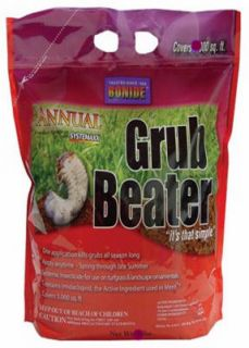 lb 15 000 Sq ft Bag Grub Beater Lawn Insect Killer w Systemaxx