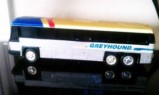 Bus Bank Greyhound Bus Plastic 10 Bank