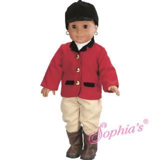 Horse Riding Uniform Fits 18 Girl Dolls