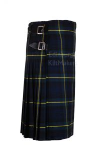 Gordon Moderntartan 100 Wool Kilts Traditional Scottish 5 Yard Casual