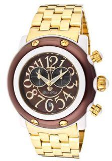 Glam Rock Watch GK1140 Miami Beach Chronograph Brown MOP Dial Gold