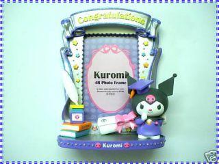 Genuined Sanrio Kuromi 4R Graduation Photo Frame 3D