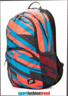 Cordura Backpack Book Bag Red Blue Black Graffiti BA4265 607