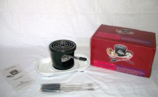 New Indoor Outdoor Tabletop smores Maker Set Very Sweet Entertaining