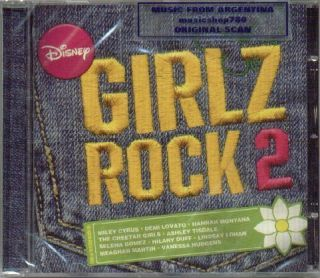Disney Girlz Rock Vol 2 CD Selena Gomez Hannah Montana