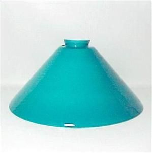 Vianne Glass 2 25 x 12 Pendant Light Lamp Shade Turquoise Cased New