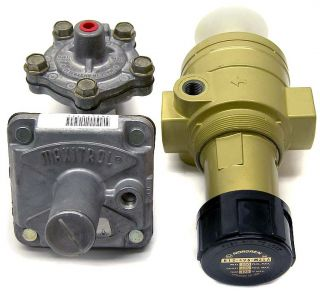 Lot 3 Norgren Maxitrol Gas Pressure Air Regulator B12 496 M3LA/ RV52