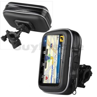 Waterproof Bike Bicycle Motorcycle GPS Case Bag Mount