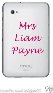 1D MRS LIAM PAYNE ONE DIRECTION LAPTOP/IPAD/TA BLET STICKER IN 20
