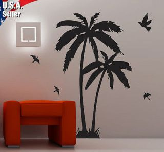 Wall Art Decor Removable Mural Vinyl Decal Sticker Palm Tree With