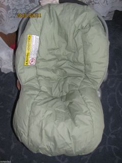 NEW Graco Snugride Replacement Infant Car seat cover Extra Sage Green
