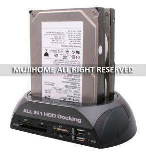 Dual 2 5 3 5 IDE SATA HDD Hard Drive Disk Dock Docking Station USB
